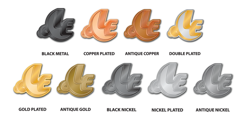 Lapel Pin Plating Options